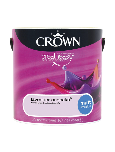 2.5L Crown Matt Emulsion - Lavender Cupcake