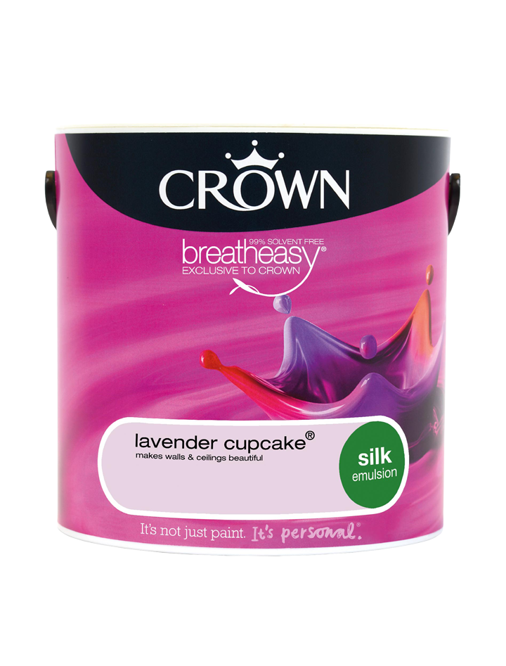 2.5L Crown Silk Emulsion - Lavender Cupcake