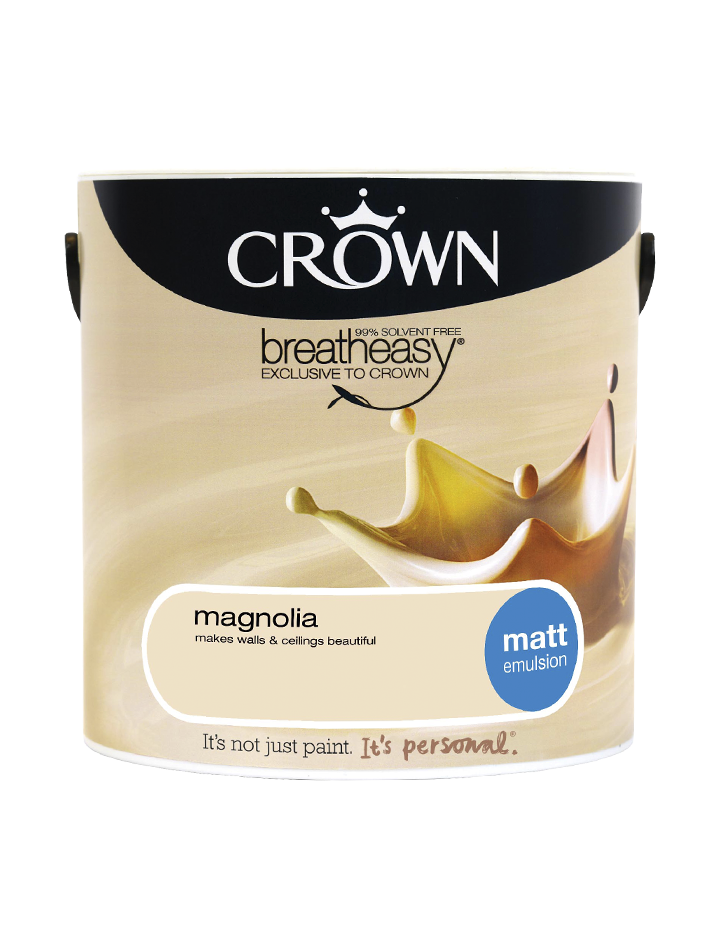 2.5L Crown Matt Emulsion - Magnolia