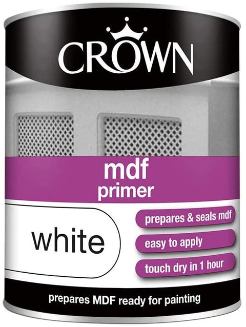 750ml Crown MDF Primer White