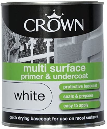 750ml Crown Multi Surface Primer and Undercoat White