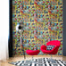 Multi Marvel Avengers wallpaper in room
