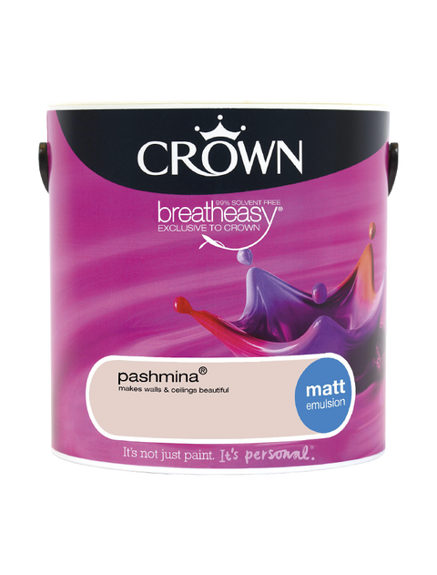 2.5L Crown Matt Emulsion - Pashmina