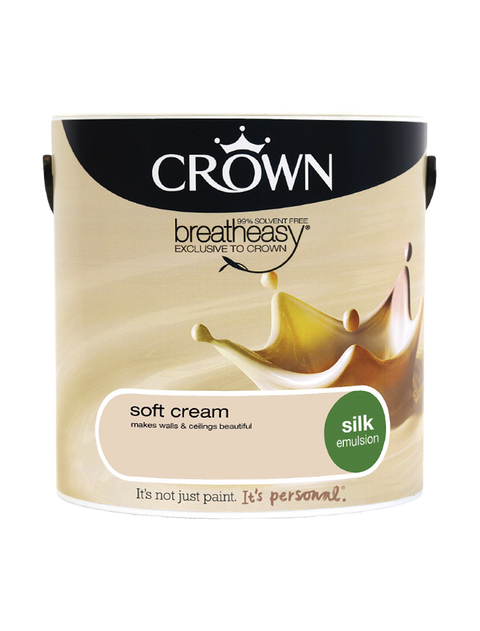 2.5L Crown Silk Emulsion - Soft Cream