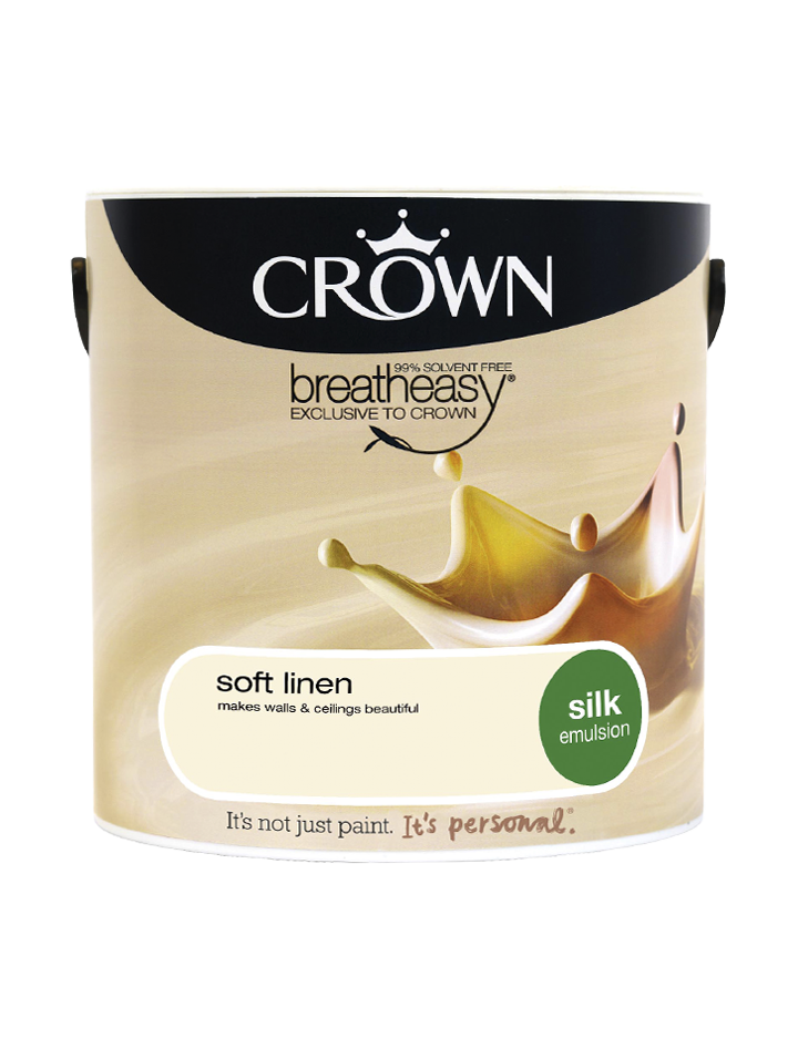2.5L Crown Silk Emulsion - Soft Linen