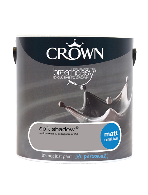2.5L Crown Matt Emulsion - Soft Shadow