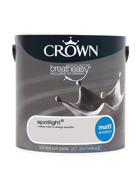 2.5L Crown Matt Emulsion - Spotlight