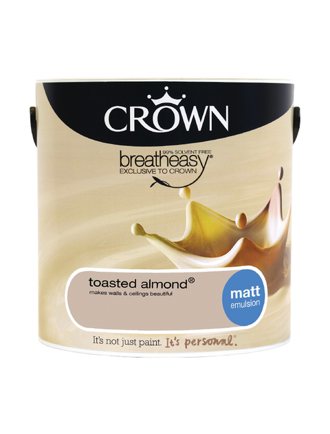 2.5L Crown Matt Emulsion - Toasted Almond