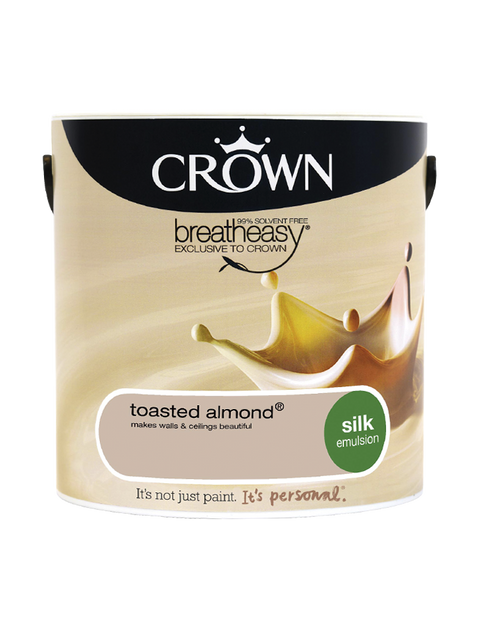 2.5L Crown Silk Emulsion - Toasted Almond