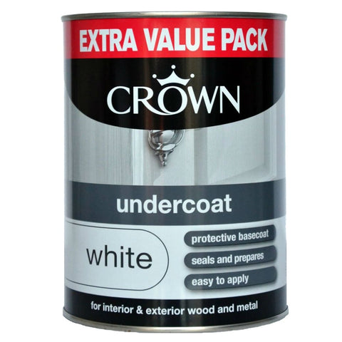 1.25L Crown Undercoat White