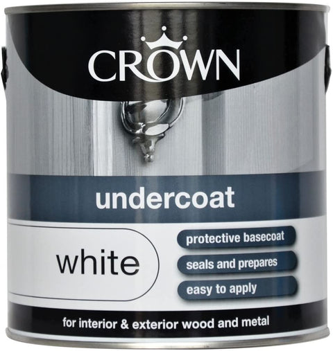 2.5L Crown Undercoat White