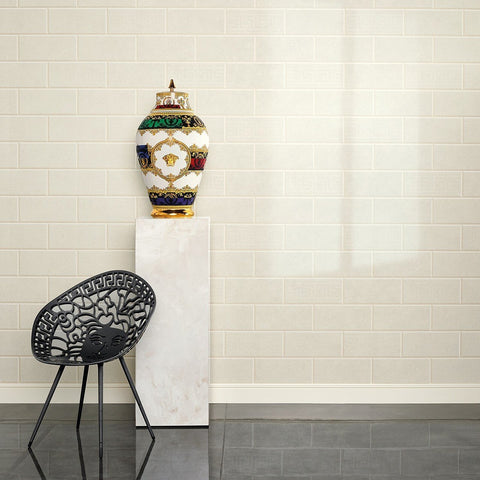 A S Creation Wallpapers Versace Beige Brick Wallpaper