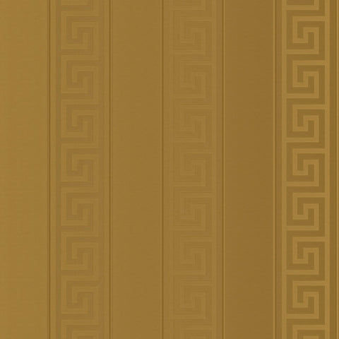A S Creation Wallpapers Versace Gold Greek Key Stripe Wallpaper