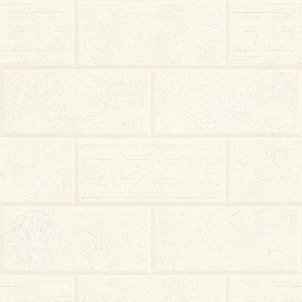 A S Creation Wallpapers Versace Ivory Brick Wallpaper