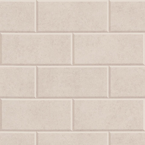 A S Creation Wallpapers Versace Mink Brick Wallpaper