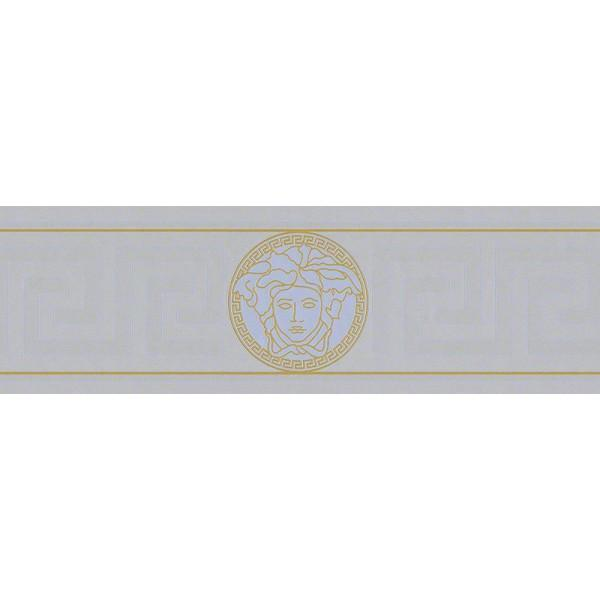 A S Creation Wallpapers Versace Silver Greek Key Border