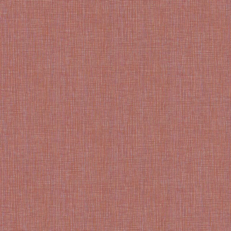 Absolutely Chic Red / Orange Grasscloth Texture Wallpaper