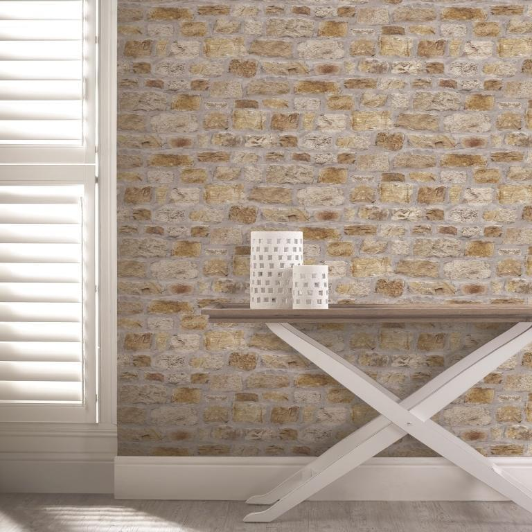 Arthouse Wallpapers Country Natural Stone Wallpaper