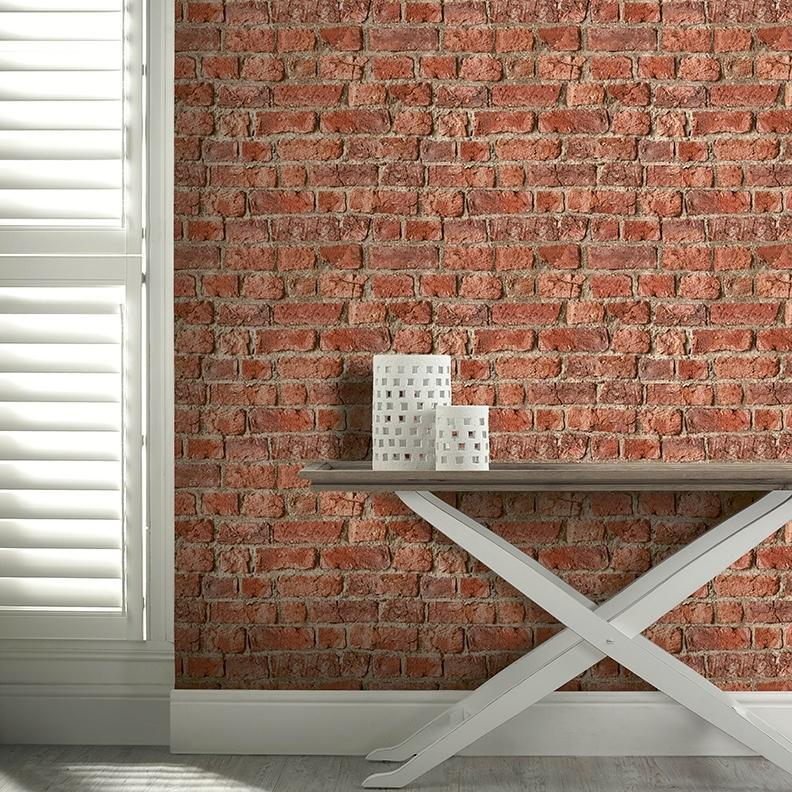 Urban Red Brick Wallpaper By Arthouse 696600