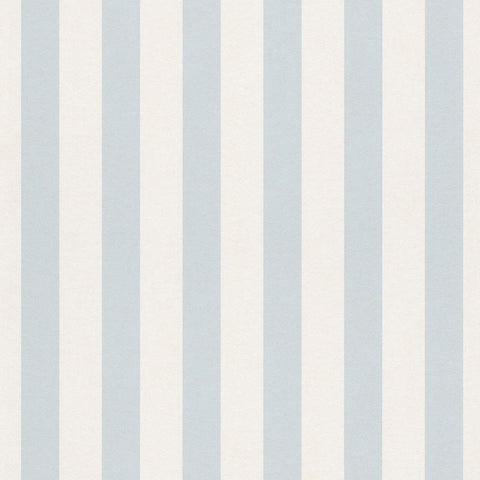 Bambino Light Blue and White Stripe Wallpaper