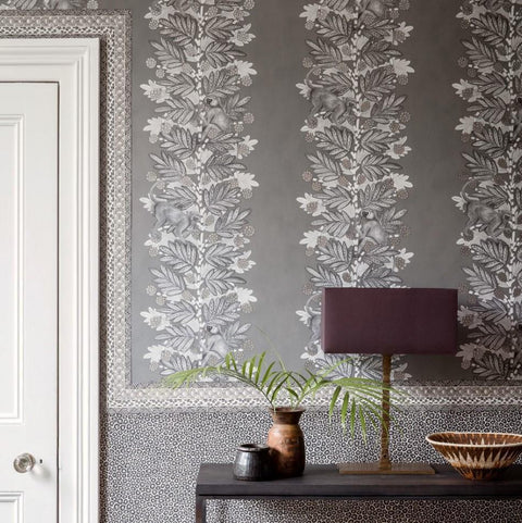 Cole and Son Wallpapers Ardmore Charcoal Acacia Wallpaper