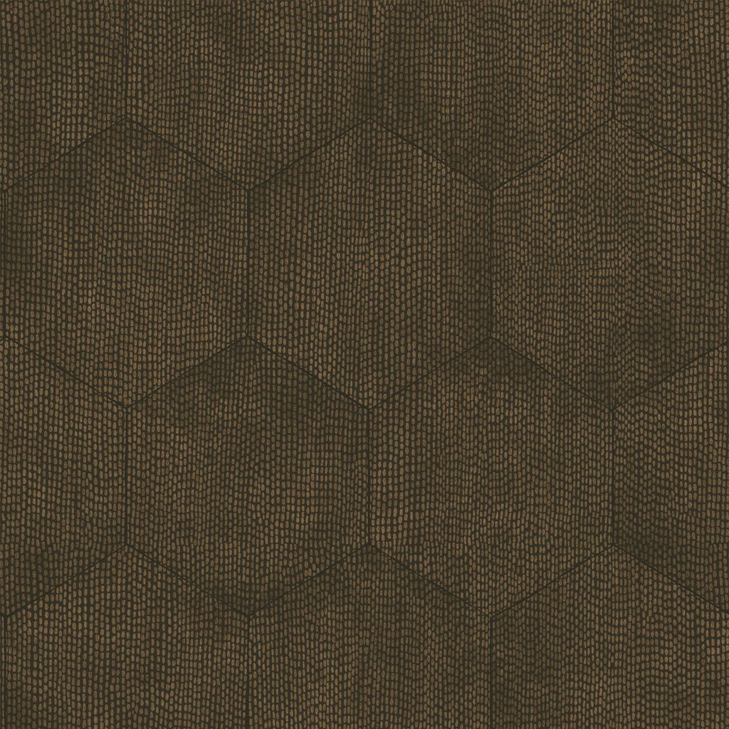 Cole and Son Wallpapers Curio Mineral Charcoal Black Hexagon Wallpaper