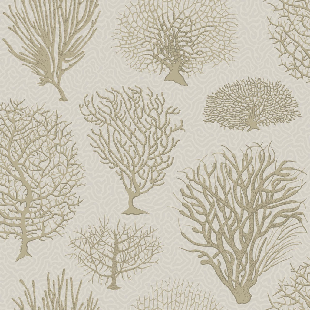 Cole and Son Wallpapers Curio Seafern Gold Trees Wallpaper