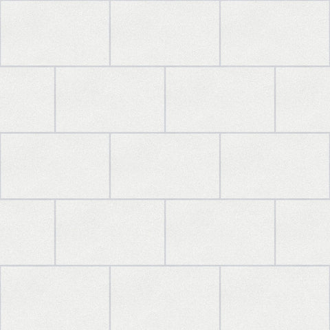 Crown Wallcoverings Wallpapers London Tile White Glitter Wallpaper