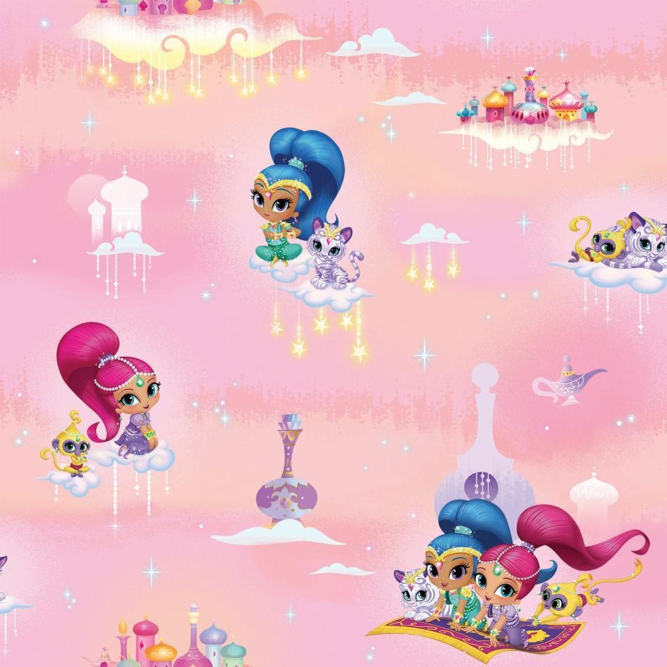 Nickelodeon Shimmer And Shine Wallpaper Lancashire Wallpaper Paint Company