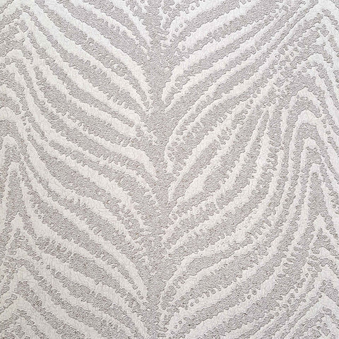 Design ID Wallpapers Kristal White / Silver Zebra Skin Wallpaper
