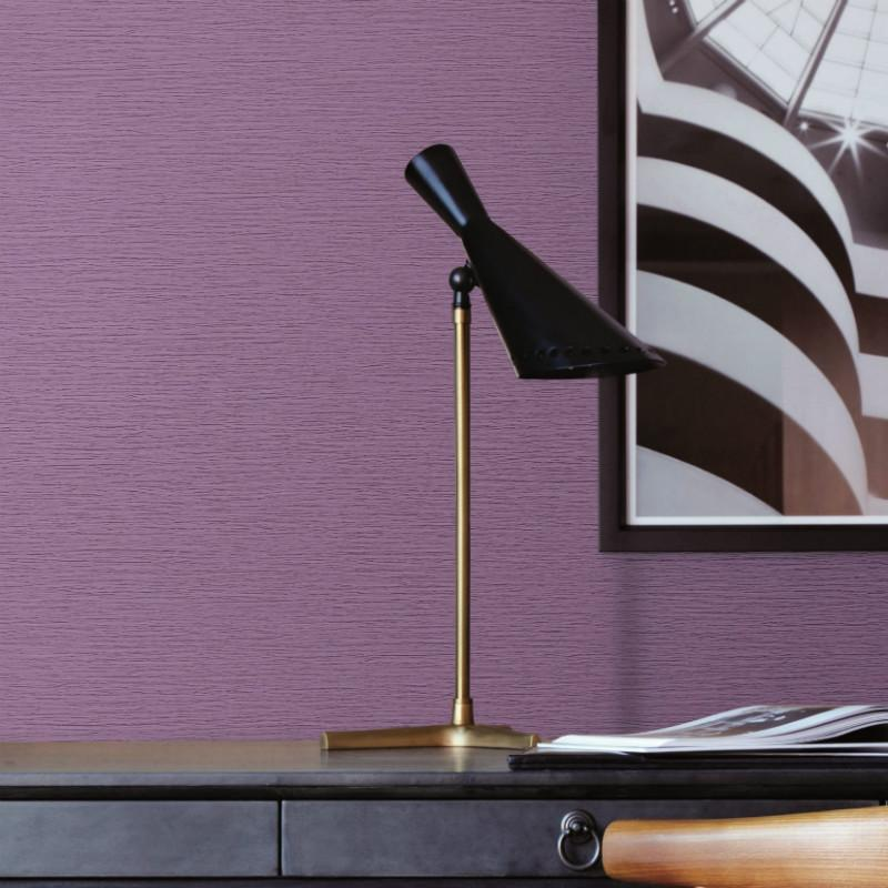 Beaux Arts 2 Purple Textured Wallpaper