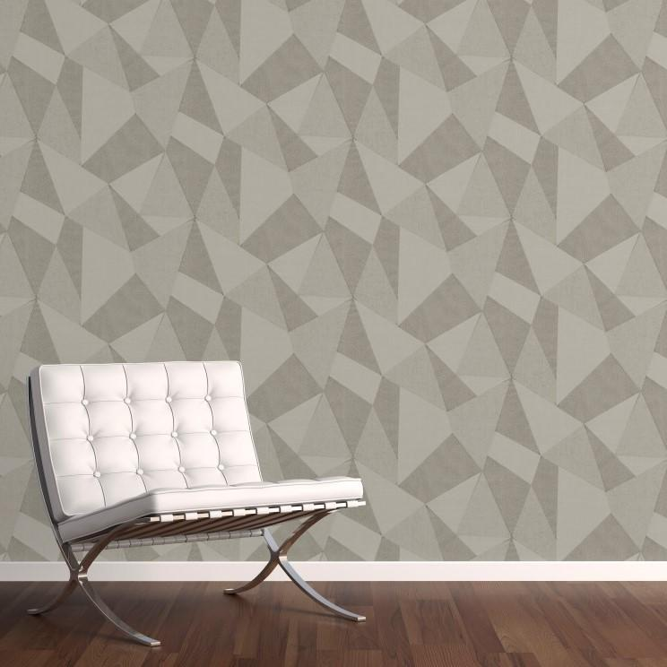 Fine Decor Wallpapers Milano 8 Large Fractal Stone Wallpaper