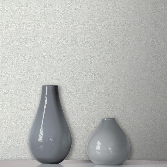 Fine Decor Wallpapers Milano 8 Large Plain Light Grey Wallpaper