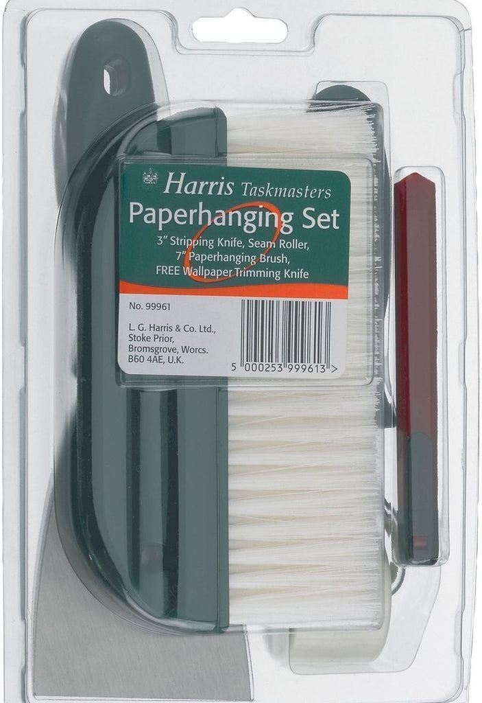 Harris Tools Wallpaper Hanging Set