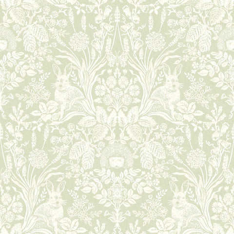 Holden Wallpapers Harlen Sage Woodland Wallpaper