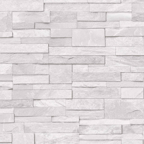 Ideco Wallpapers Ideco White Stone Wallpaper