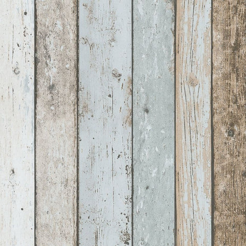 Il Decoro Blue Grey Wood Panel