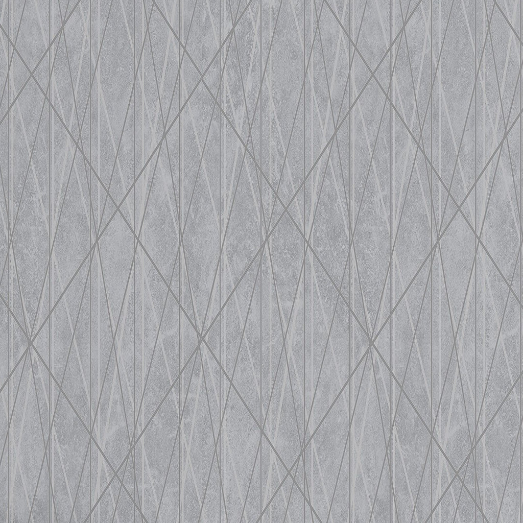 Laser Geometric Silver Wallpaper