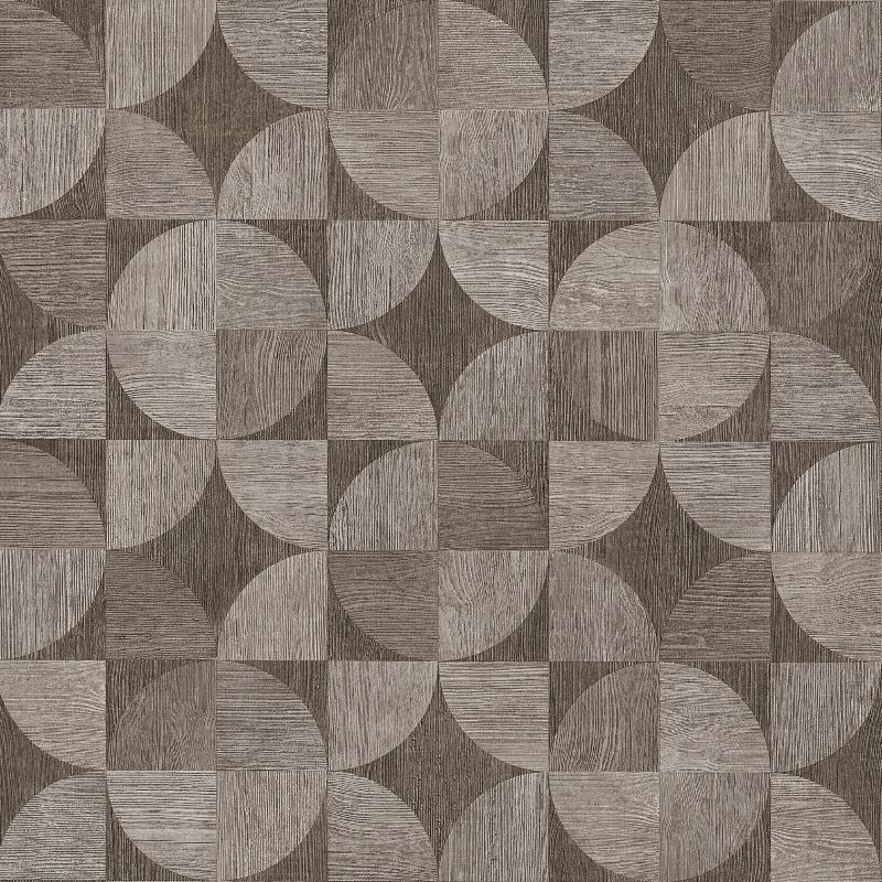 Nils Olsson Geometric Wood Grey Wallpaper