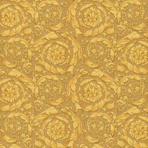 Versace Gold Barocco Wallpaper