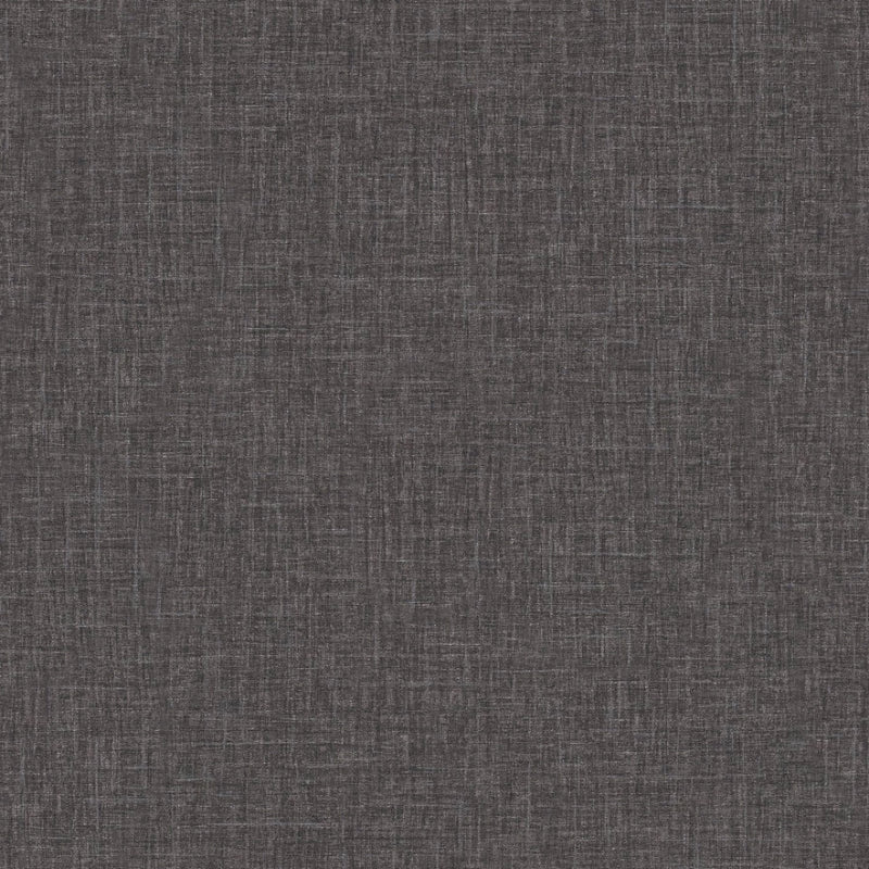 Versace Charcoal Black Linen Texture Wallpaper By As Creation 96233 6