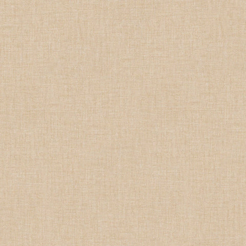 Versace Pale Gold Linen Texture Wallpaper