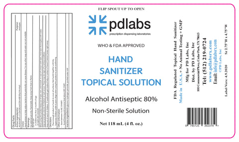 Hand Sanitizer-Liquid