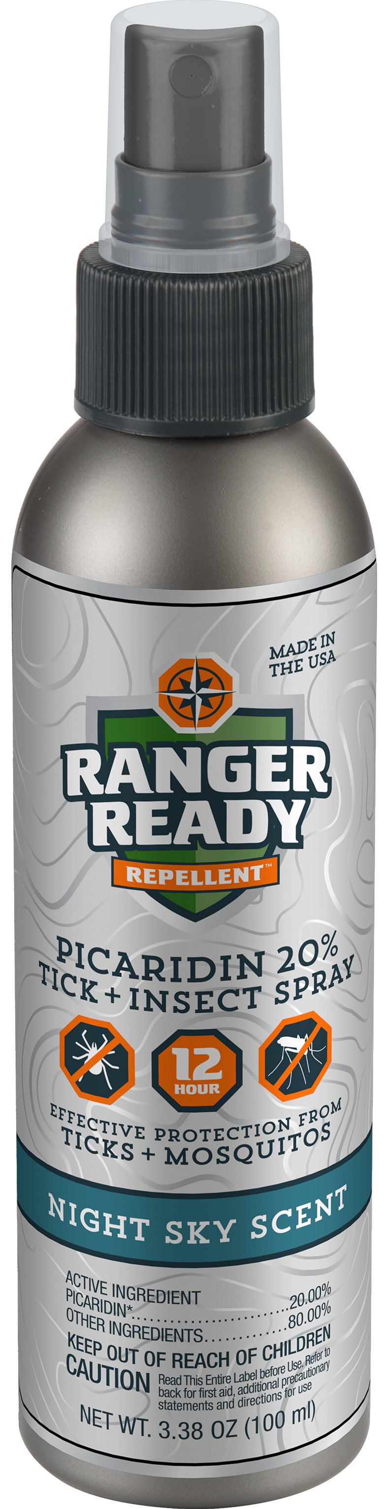Ranger Ready Picaridin Insect Repellent- Night Sky Scent
