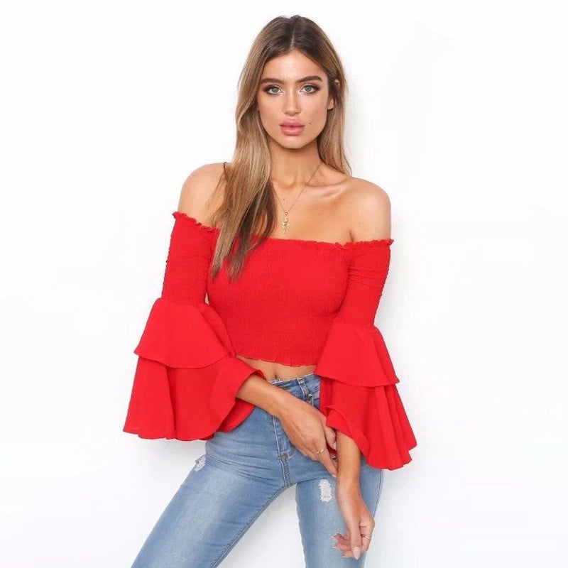 da4a895ea1651 Summer Collection 2018 Cropped Off Shoulder Top – Shop With AirSync
