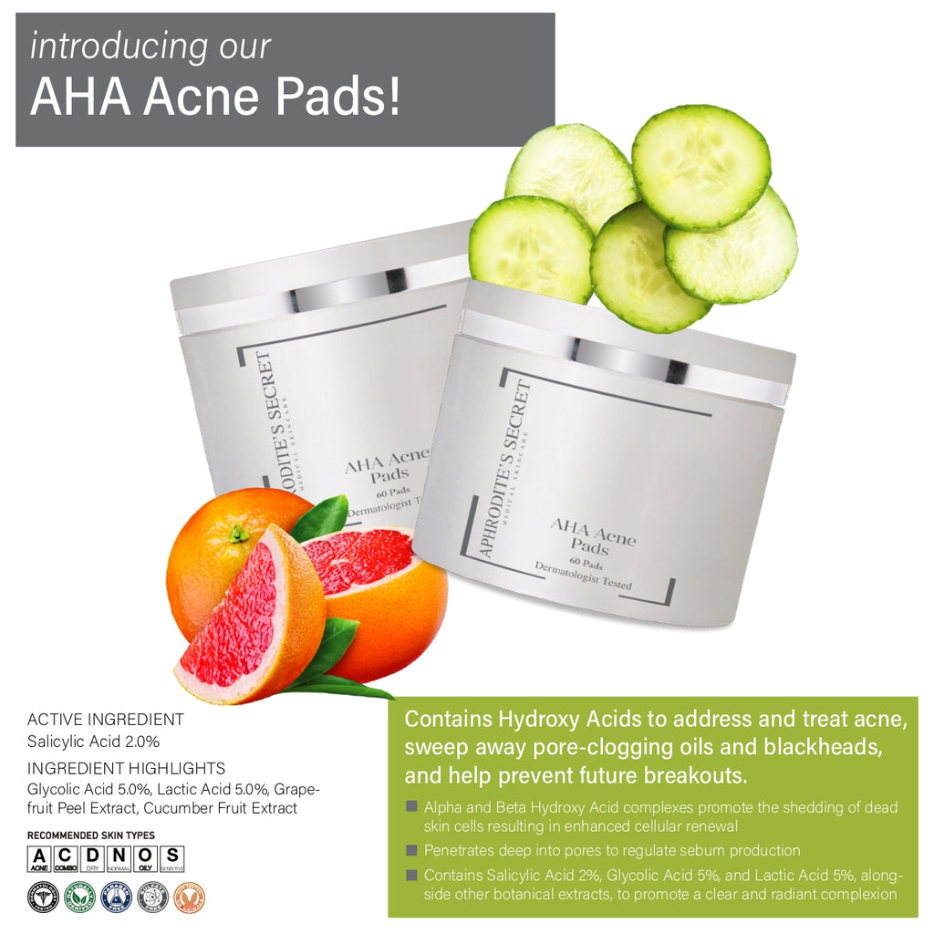 Aphrodite's Secret AHA Acne Pads