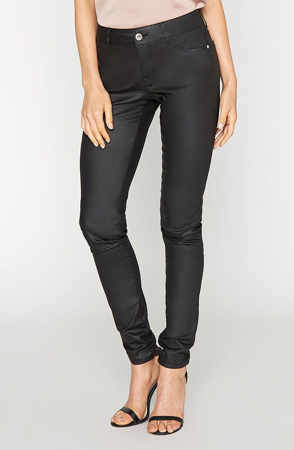 Alloy Apparel London Wax Coated Jeans