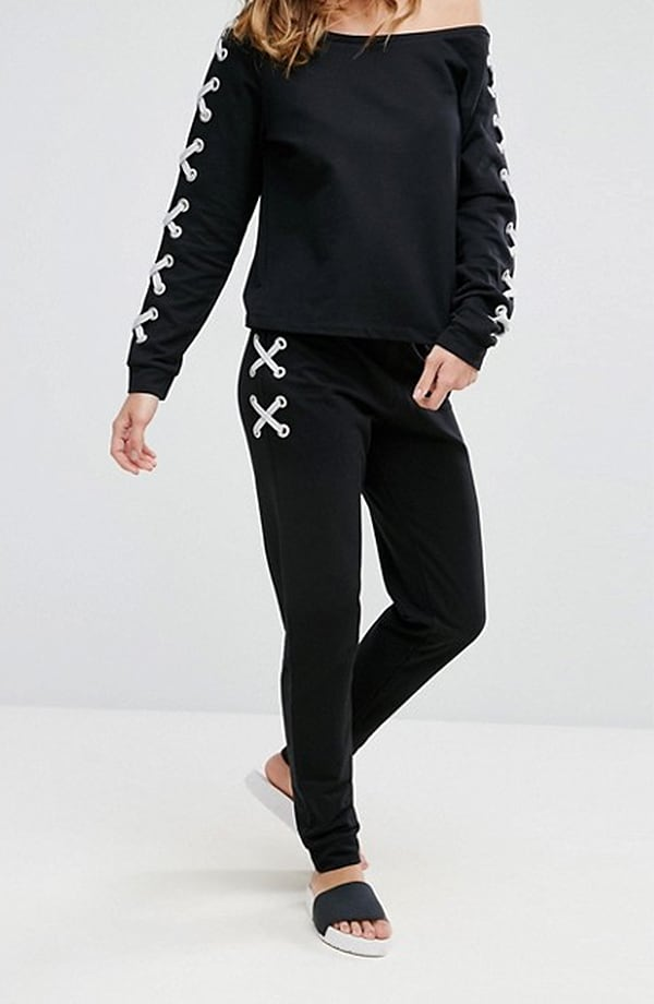 Asos Lounge Lace Up Jogger
