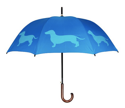 Dog themed umbrella