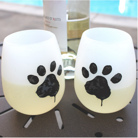 dog wine cups